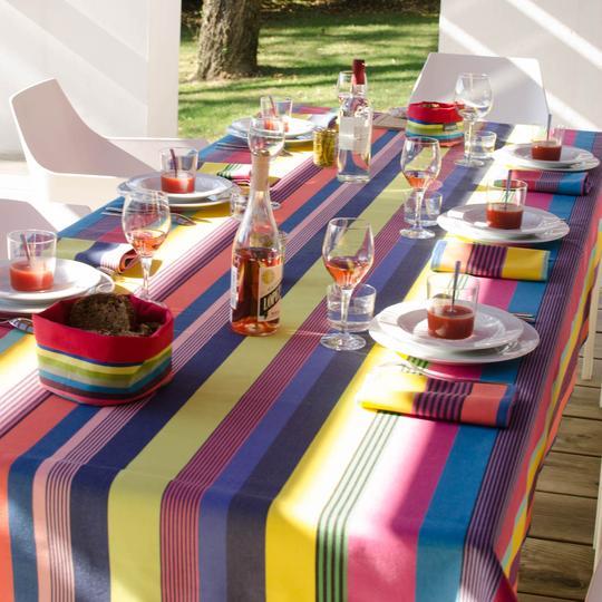 Gecoat tafellinnen: dat ziet er gezellig uit!